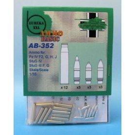 Eureka XXL Ammo for : Pz IV , StuG IV, StuG III F,G