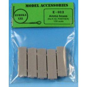 Eureka XXL Wooden Ammo Boxes for 7.5 cm Kw.K.42