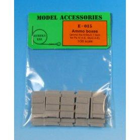 Eureka XXL Wooden Ammo Boxes for 7.5 cm Kw.K.37/Stu.K.37 L/24