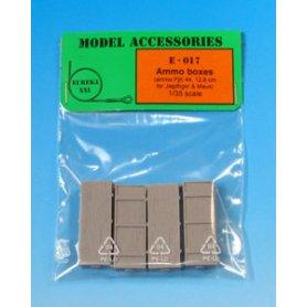 Eureka XXL Wooden Ammo Boxes for 12.8 cm Pak 44/Kw.K. (Maus)