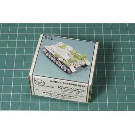 Eureka XXL 1:35 Accessories for Pz.Kpfw.IV STOWAGE SET