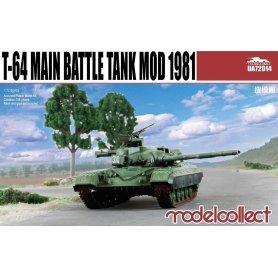 Modelcollect UA72014 T-64A Main Battle Tank Mod 81