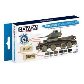 Hataka Zestaw farb British AFV / WWII European