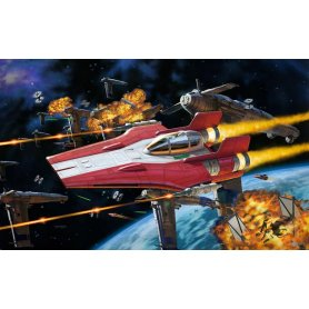 Revell BUILD AND PLAY STAR WARS Resistance A-Wing Fighter