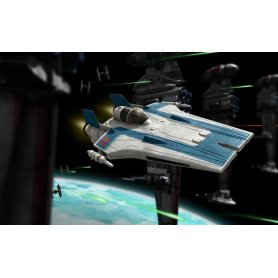 Revell BUILD AND PLAY STAR WARS Resistance A-Wing Fighter / BLUE