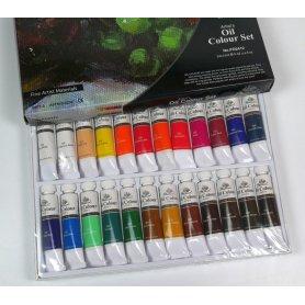 Zestaw farb olejnych Phoenix 24szt. 12ml
