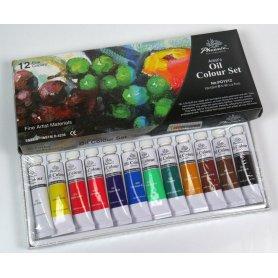Zestaw farb olejnych Phoenix 12szt. 12ml