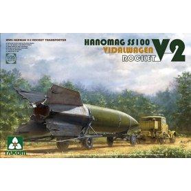 Takom 2110 V2Rocket Vidalwagen Hanomag SS100 - NOWOŚĆ