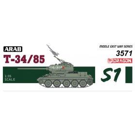 Dragon 1:35 Arabski T-34-85