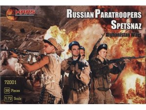 Mars 1:72 RUSSIAN PARATROOPERS SPETSNAZ | 30 figurines