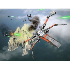 Revell 06763 Star War Build&Play Po'e Boosted