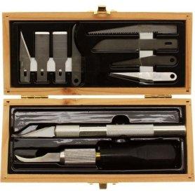 EXCEL 44285 KNIFE SET - WOODEN BOX