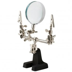 Excel 55675 Double Clip Extra Hands with Magnifier