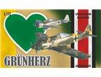 Eduard 1:72 Focke Wulf Fw-190A GRUN HERZ | DUAL COMBO |
