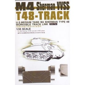 AFV Club 35038 M4 Sherman Track1/35