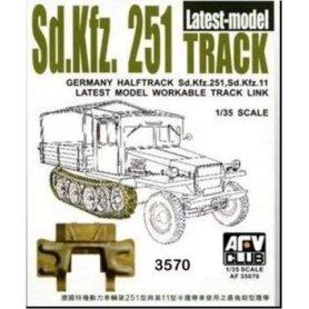 AFV Club 35070 Sdkfz 251 Latest Tr.