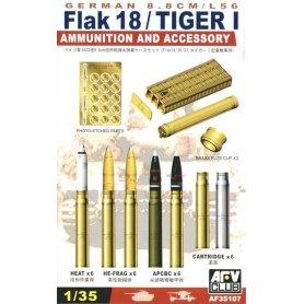 AFV Club 35107 Ger. Flak 18 Ammo