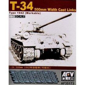 AFV Club 35173 T-34 500 Mm W/Cast L