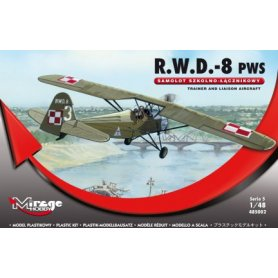 Mirage R.W.D.-8 (PWS) SAMOLOT SZKOLNO-ŁĄCZNIKOWY