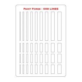 Szablon Lines L