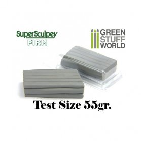Green Stuff World Super Sculpey Firm Grey 55 gr