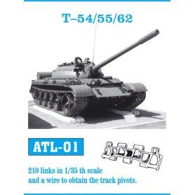 Friulmodel Gąsienice metalowe do KV-1 / KV-2 / KV-1S / SU-152