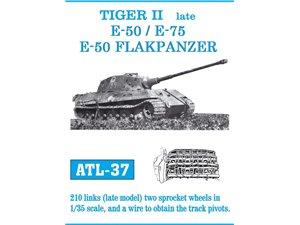 Metal Tracks TIGER II E-50//E-75//E-50 FLAKPANZER 1:35 Model Kit Friulmodel ATL-37
