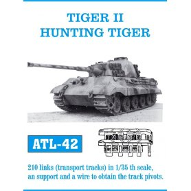 Friulmodel Gąsienice metalowe do Pz.Kpfw.VI King Tiger / Jagdtiger