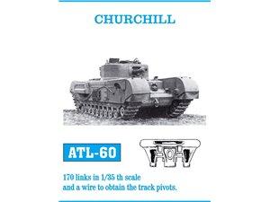 Friulmodel 1:35 Metal tracks for Churchill - Sklep Modelarski Agtom