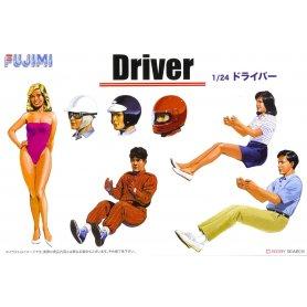 Fujimi 114910 1/24 GT-4 Driver ( Accessory )