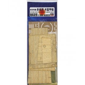 Hasegawa 72125 QG25 1:350 Wooden Deck For Akagi