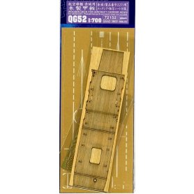 Hasegawa 72152 QG52 1/700 Wooen Deck for Akagi