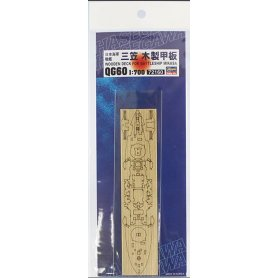 Hasegawa 72160 QG60 1/700 Wooden Deck For Mikasa