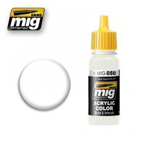 Ammo of MIG Farba White Matt