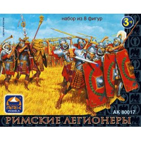 Ark Models 80017 1/32 Roman legionaries 8 figurek