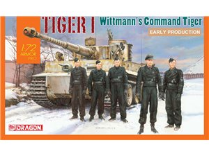 Dragon 1/72 WITTMANN'S COMMAND TIGER