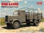 ICM 35454 WWII German Truck KHD A3000