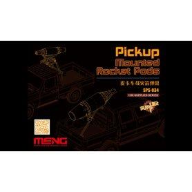 Meng SPS-034 Pickup Mounted Rocket Pods