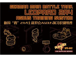 Meng SPS-042  Leopard 2A4 AGDUS Training System