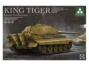 Takom 2096 WWII German King Tiger Initial 4in1