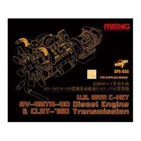 Meng SPS-055 U.S.M911 C-HET 8V-92TA-90 Diesel Eng.