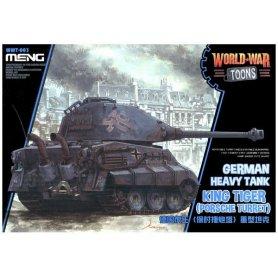 Meng WWT-003 German Heavy Tank King Tiger- Toon