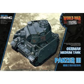 Meng WWT-005 German Medium Tank Panzer III- Toon