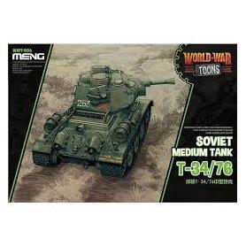 Meng WWT-006 Soviet Medium Tank T-34/76- Toon