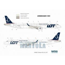 Martola 144D008 Embraer 195 PLL LOT