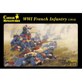 Caesar H 034 WWI French Infantry ( 1914 )