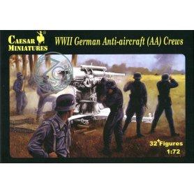 Caesar H 089 WWII German Anti-aircraft (AA) Crew