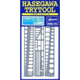 Hasegawa TP1-71101 Template Set 1