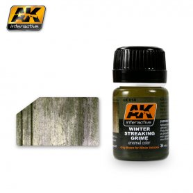 AK Interactive AK-014 Winter Streaking Grime / 17ml