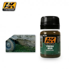AK Interactive AK-016 Fresh Mud / 17ml
